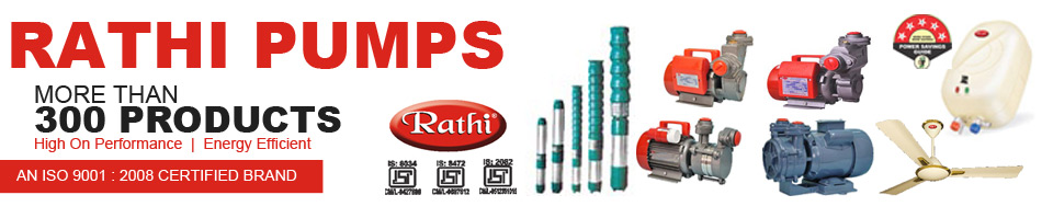 Rathi Pumps,high quality electric water pumps and motors listing,Best Water Pumps India,Best Monoblock Pumps India,Best centrifugal Pumps in India,Best Submersible pumps in India